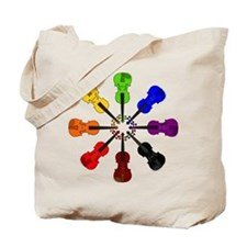 Circle of Violins Tote Bag