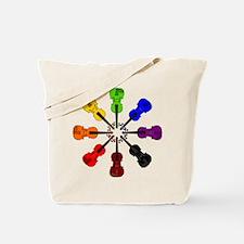 Circle of Violins Tote Bag