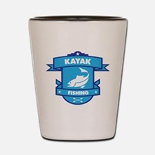 Kayak Fishing Shot Glass
