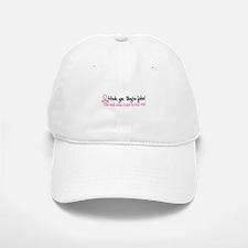Yes They're Fake Breast Cancer Baseball Baseball Cap