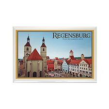 Regensburg Neupfarrkirch Rectangle Magnet