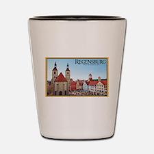 Regensburg Neupfarrkirch Shot Glass