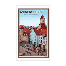 Regensburg Neupfarrplatz Decal