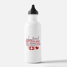 Switzerland - Favorite Swiss Things Water Bottle