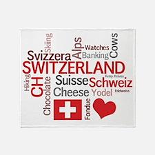 Switzerland - Favorite Swiss Things Stadium Blank
