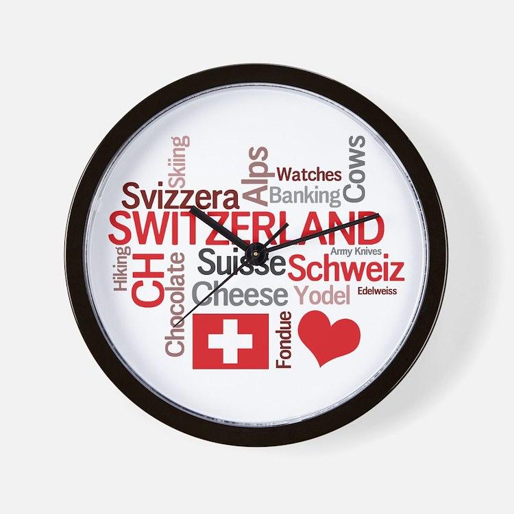 Switzerland Clocks Switzerland Wall Clocks Large