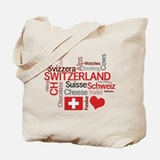 Switzerland - Favorite Swiss Things Tote Bag