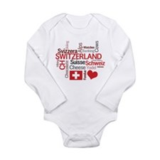 Switzerland - Favorite Swiss Things Long Sleeve In