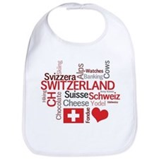 Switzerland - Favorite Swiss Things Bib
