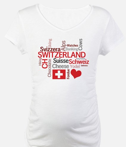 Switzerland - Favorite Swiss Things Shirt