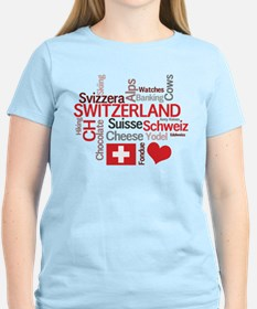 Switzerland - Favorite Swiss Things T-Shirt