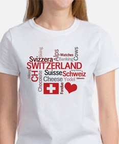 Switzerland - Favorite Swiss Things Tee