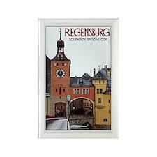 Regensburg Stone Bridge Rectangle Magnet