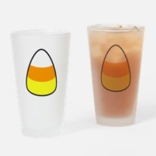 Candy Corn Drinking Glass