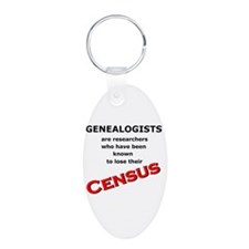 Red Losing Census Keychains