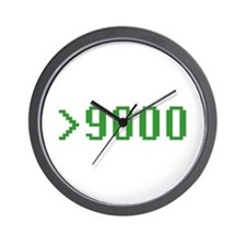 >9000 Wall Clock