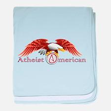 American Atheist baby blanket