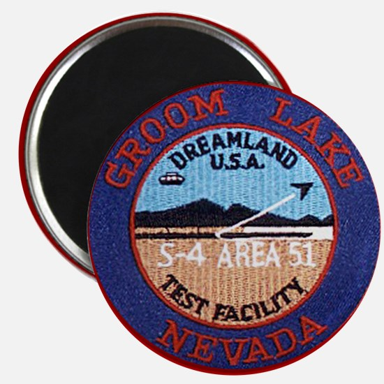 area51patch Magnets