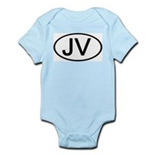 JV - Initial Oval Infant Creeper