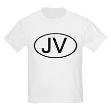 JV - Initial Oval Kids T-Shirt