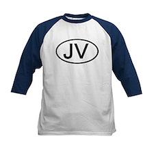 JV - Initial Oval Tee