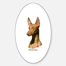 Pharaoh Hound 9P003D-60 Sticker (Oval)