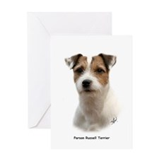 Parson Russell Terrier 9Y081D-014 Greeting Card