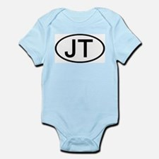 JT - Initial Oval Infant Creeper