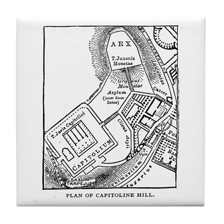 Capitoline Hill Plan