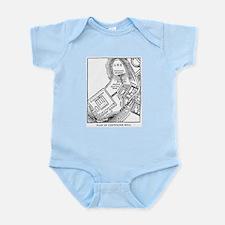 Rome's Capitoline Hill Plan Infant Bodysuit