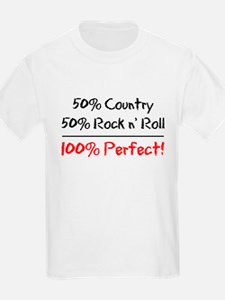 50% Country 50% Rock N' Roll T-Shirt