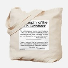 Philosophy of the Gun Grabbers Tote Bag