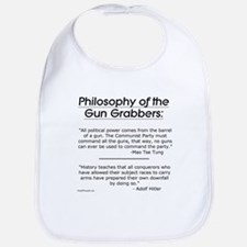 Philosophy of the Gun Grabbers Bib