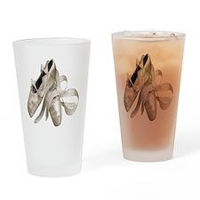 Ballet Slippers Drinking Glass