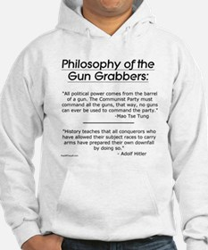 Philosophy of the Gun Grabbers Hoodie Sweatshirt