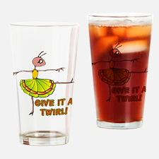 Bug Dancer Drinking Glass