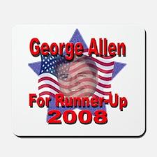 George Allen For Runner-Up 20 Mousepad