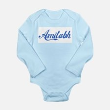 Cute Bachchan Long Sleeve Infant Bodysuit