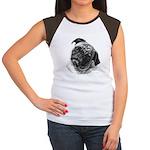 Pug Women's Cap Sleeve T-Shirt