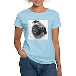 Pug Women's Pink T-Shirt