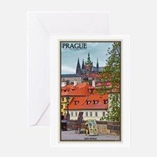 Prague Castle Greeting Card