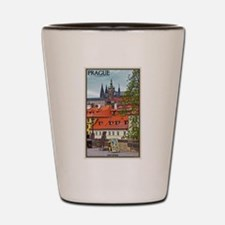 Prague Castle Shot Glass