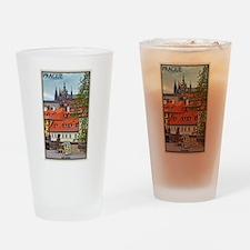 Prague Castle Drinking Glass
