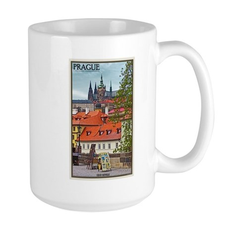 Prague Castle Large Mug