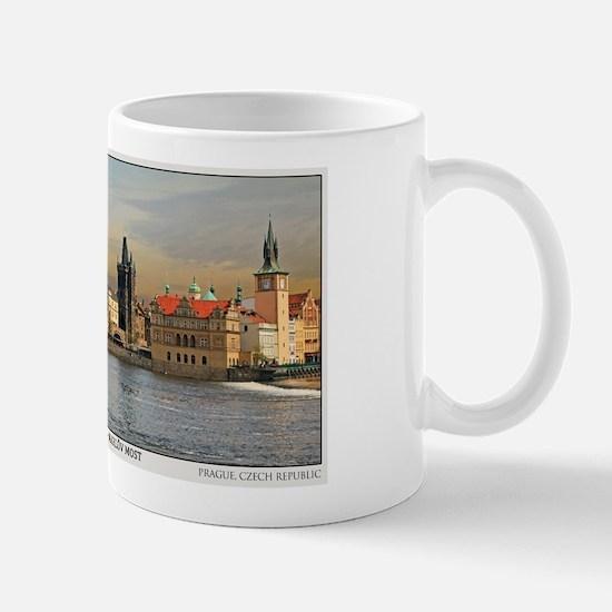 Charles Bridge Panorama Mug