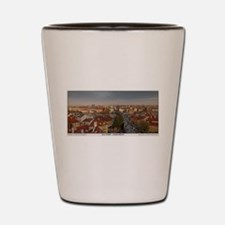 Old Town Prague Pano Shot Glass