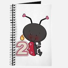 2nd Birthday Ladybug Journal