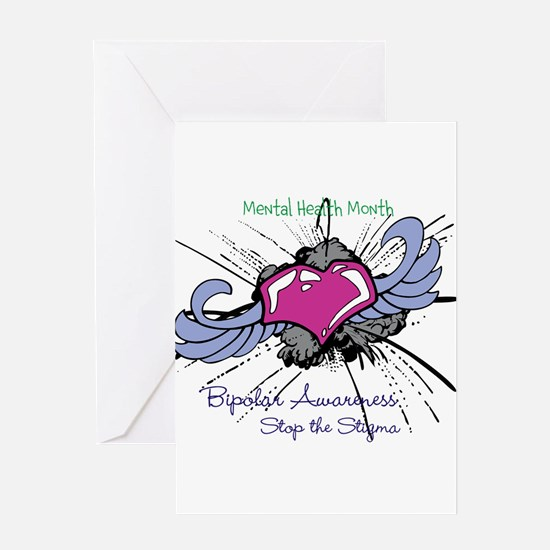 Mental Health Month Greeting Card