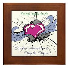 Mental Health Month Framed Tile