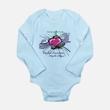 Mental Health Month Long Sleeve Infant Bodysuit